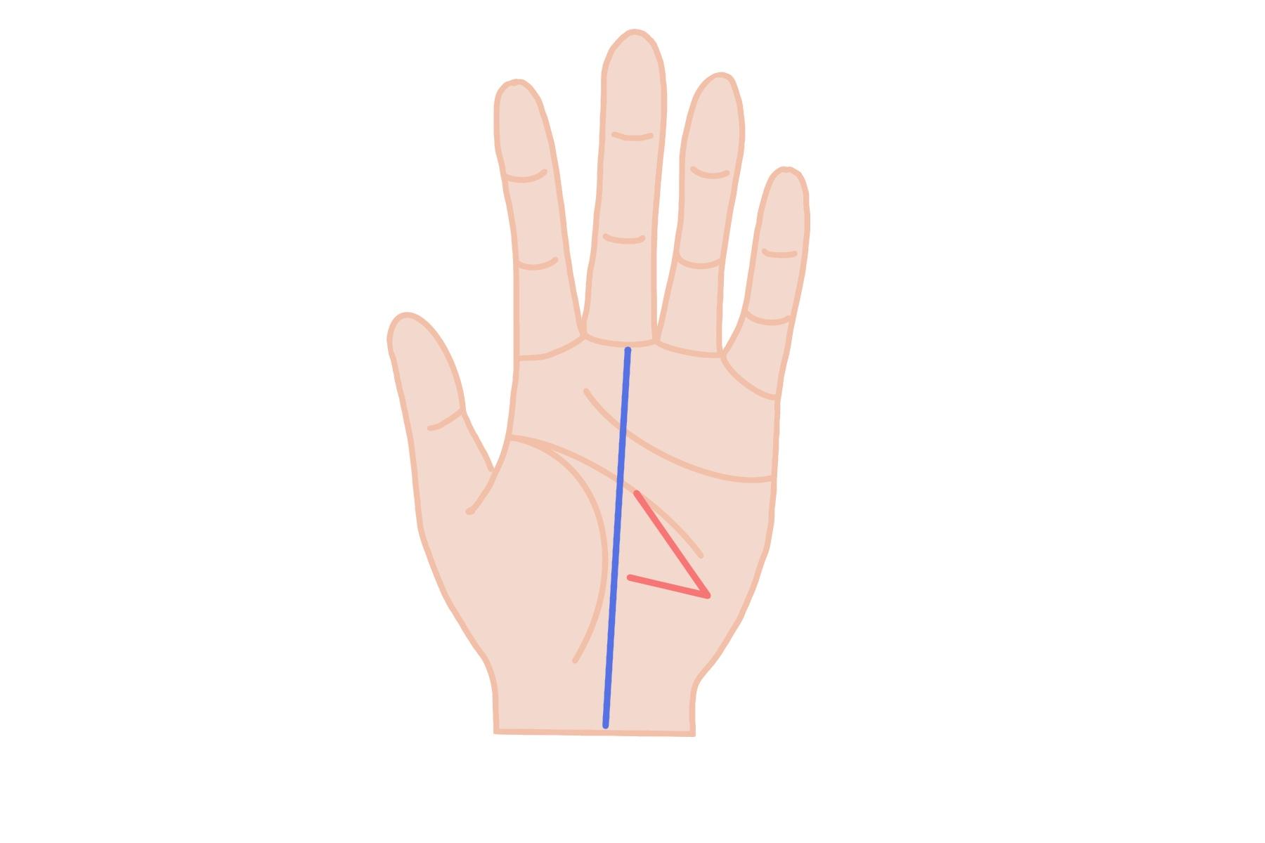 影響線:始点から枝分かれ