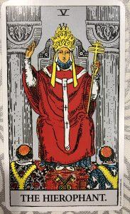 教皇(正位置)